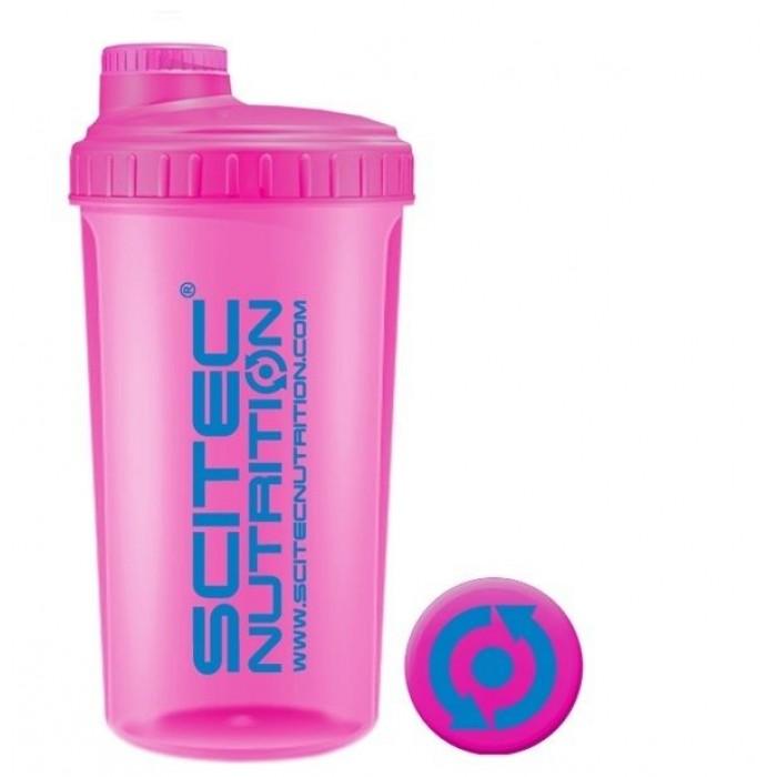 Shaker Scitec Розовый NEON  (700 мл)